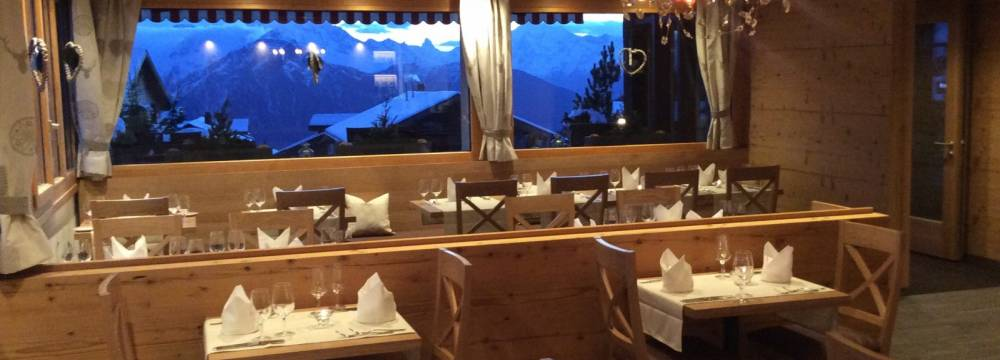 Restaurants in Bettmeralp: Chalet-Hotel Bettmerhof