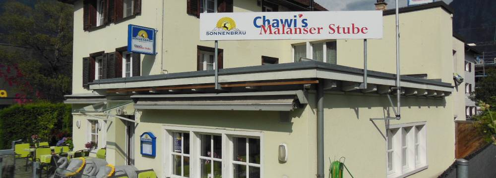 Chawi s Malanser Stube in Malans