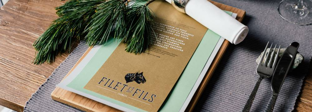 Filet et Fils Modern Grill in Zermatt