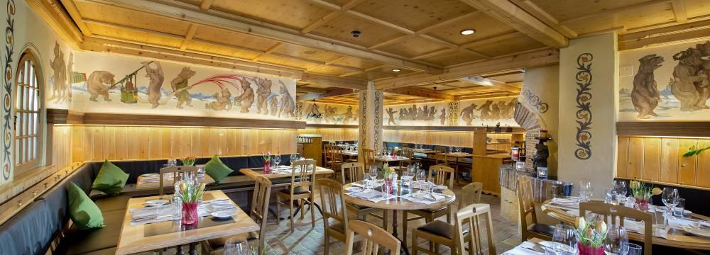 Restaurants in Saanenmöser: Bärengraben im Golfhotel Les Hauts de Gstaad