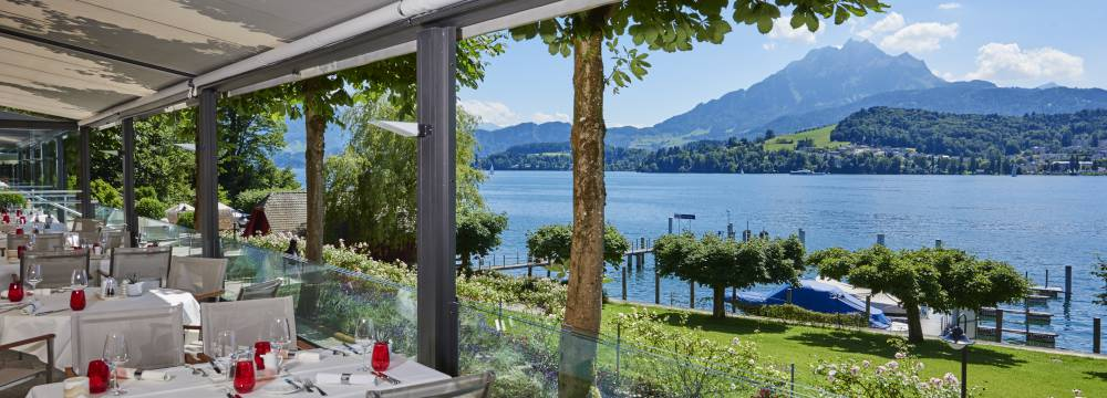 Restaurants in Lucerne: Hermitage