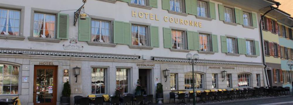 Restaurants in Aarberg: Hotel-Restaurant Krone