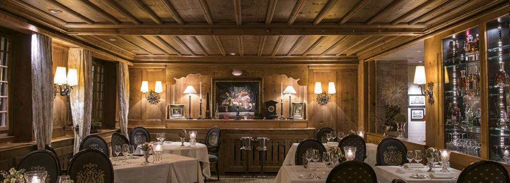 Restaurants in Gstaad: Le Bar du Grill Gstaad Palace