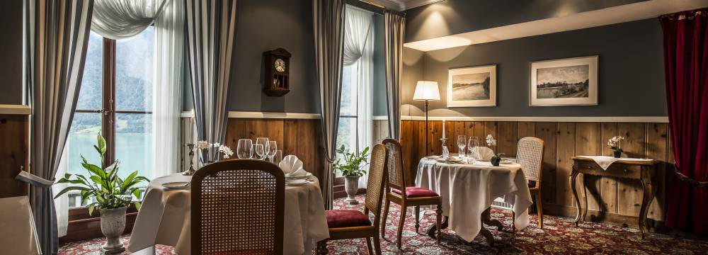 Restaurants in Brienz: Le Tapis Rouge