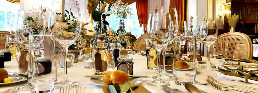 Restaurants in Flims: Romantik Hotel Schweizerhof Restaurant