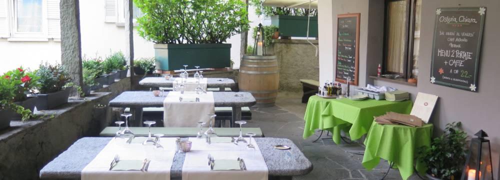 Restaurants in Locarno: Osteria Chiara