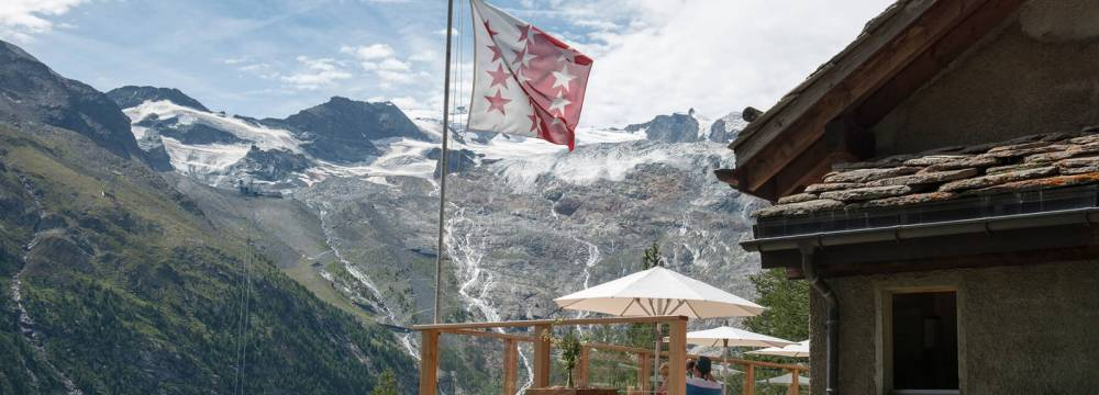 Restaurants in Saas-Fee: Restaurant Alpenblick