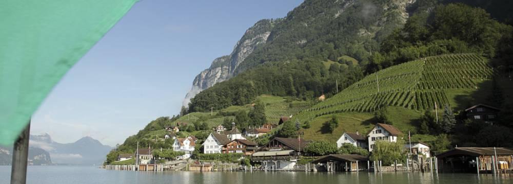 Restaurants in Quinten: Wirtschaft zur Schifflände