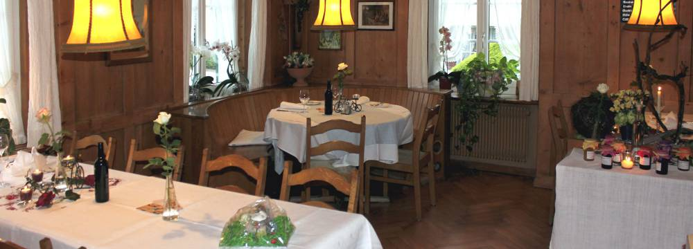 Restaurants in Ramsen: Hotel Restaurant Hirschen