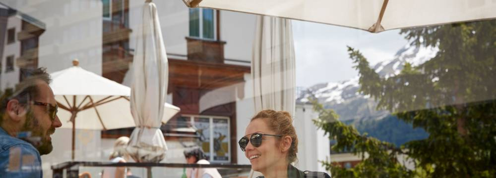 Restaurants in St. Moritz: Restaurant Acla