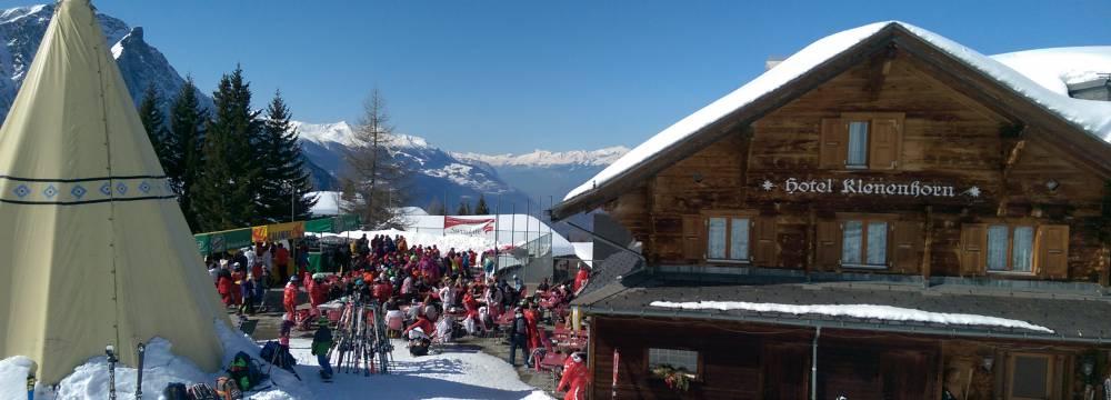 Restaurants in Rosswald: Berghotel-Klenenhorn