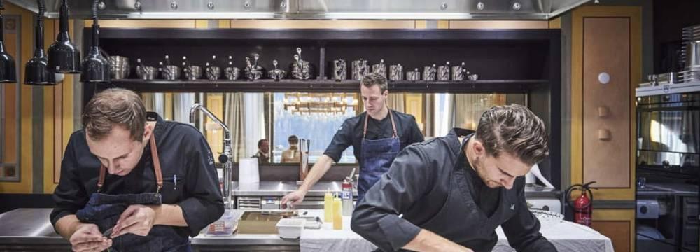 Restaurant IGNIV by Andreas Caminada in St. Moritz