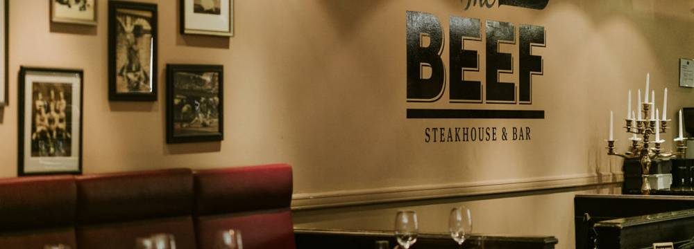 The BEEF Steakhouse & Bar in Bern