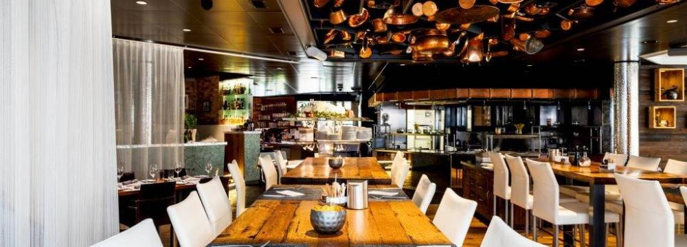 Restaurants in Zürich: speiseKAMMER - Front Cooking Restaurant