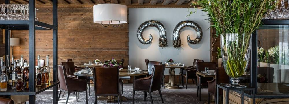 Restaurants in Gstaad: Restaurant Sommet - The Alpina Gstaad