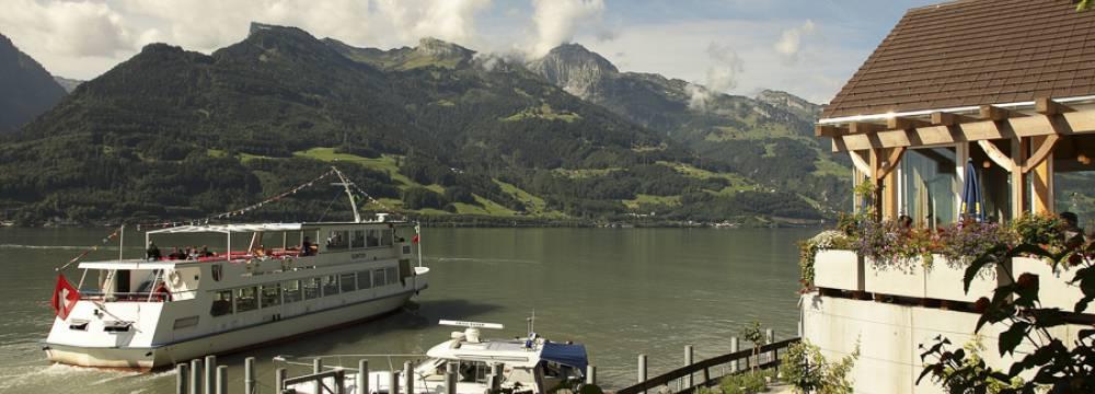 Wirtschaft zur Schifflände in Quinten
