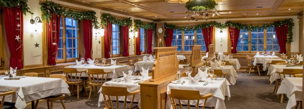 Restaurants in Meiringen: Hotel Alpbach Restaurant