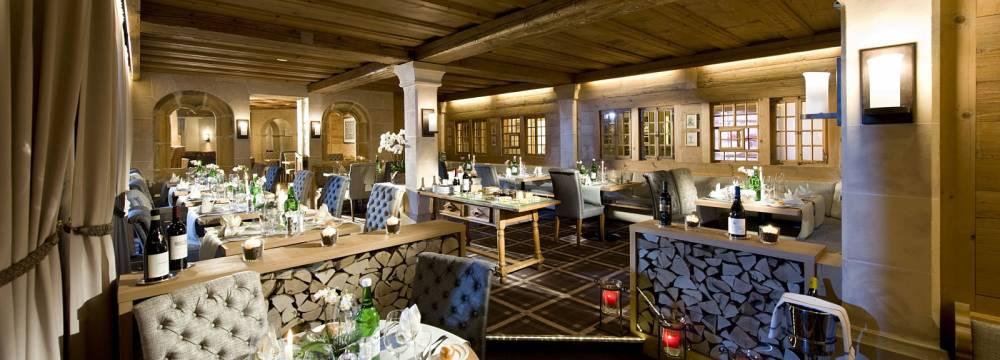 Restaurants in Saanenmöser: Belle Epoque im Golfhotel Les Hauts de Gstaad & SPA