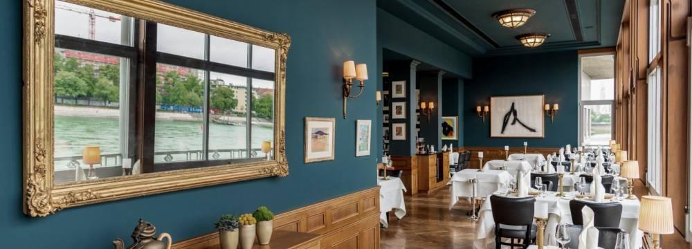 Brasserie Les Trois Rois in Basel
