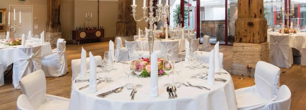 Restaurants in Schaffhausen: Gueterhof Gastronomie am Rhein