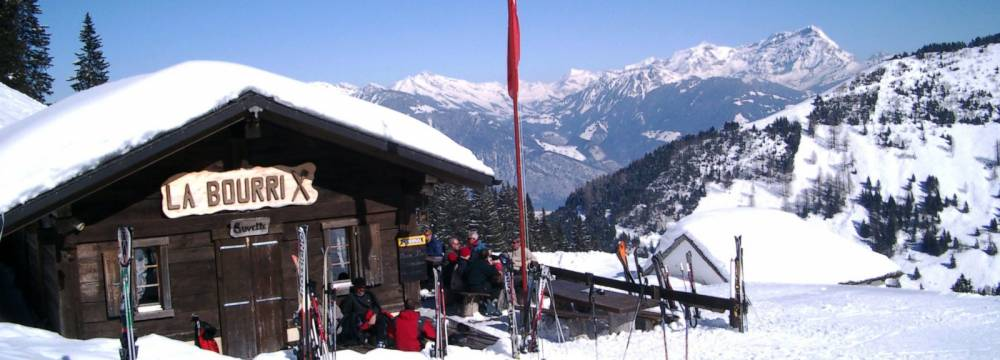 Restaurants in Torgon: La Bourri