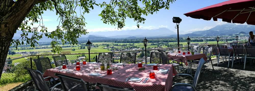 Romantik Restaurant Schloss Weinstein in Marbach