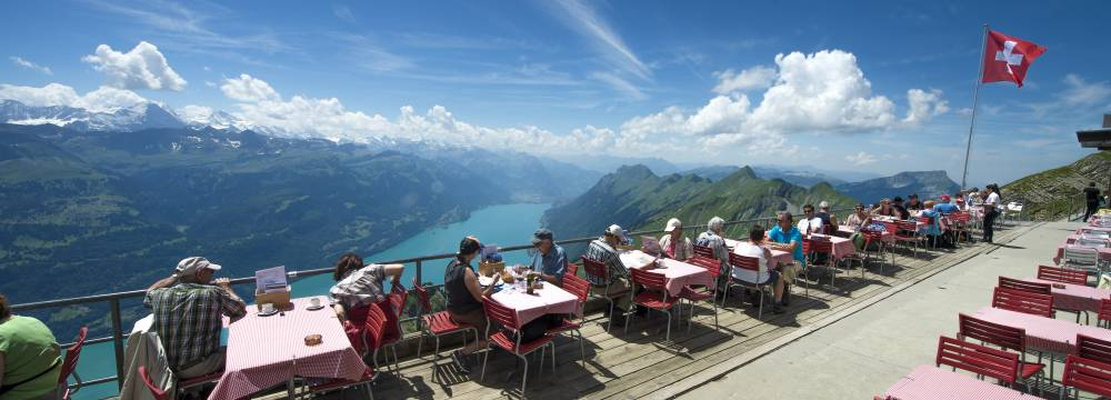 Restaurants in Brienz: Bergrestaurant Rothorn Kulm