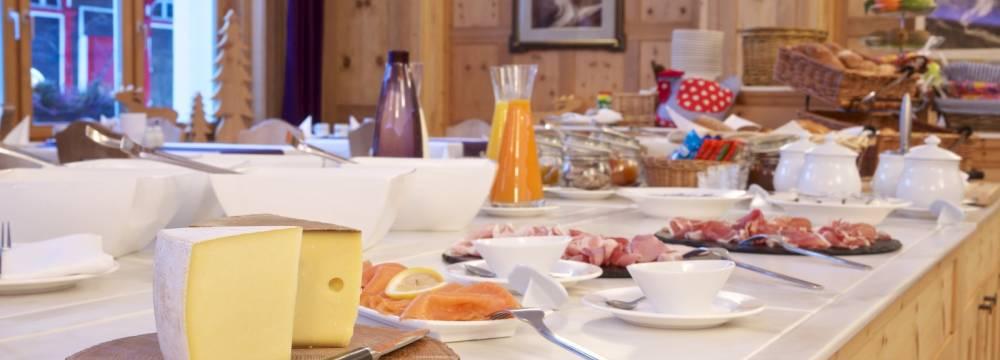 Restaurants in Pontresina: Hotel Restaurant Morteratsch