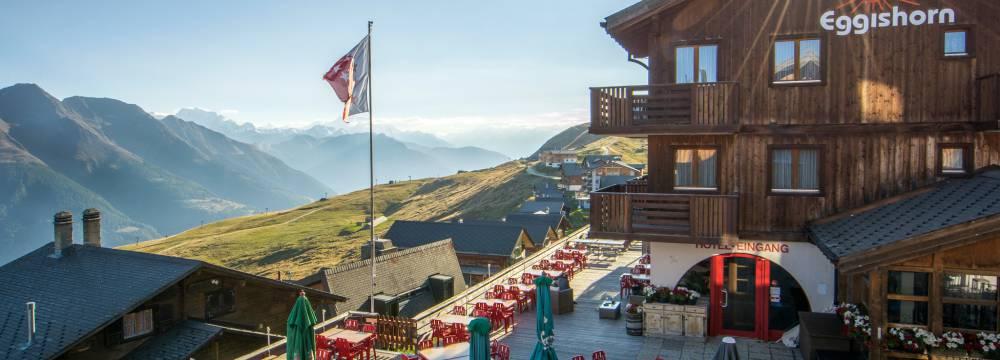 Restaurants in Fiesch in Valais: Hotel Eggishorn, Fiesch in Valais