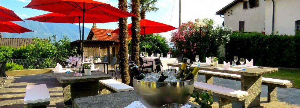 Restaurants in Locarno-Monti: La Chiesa