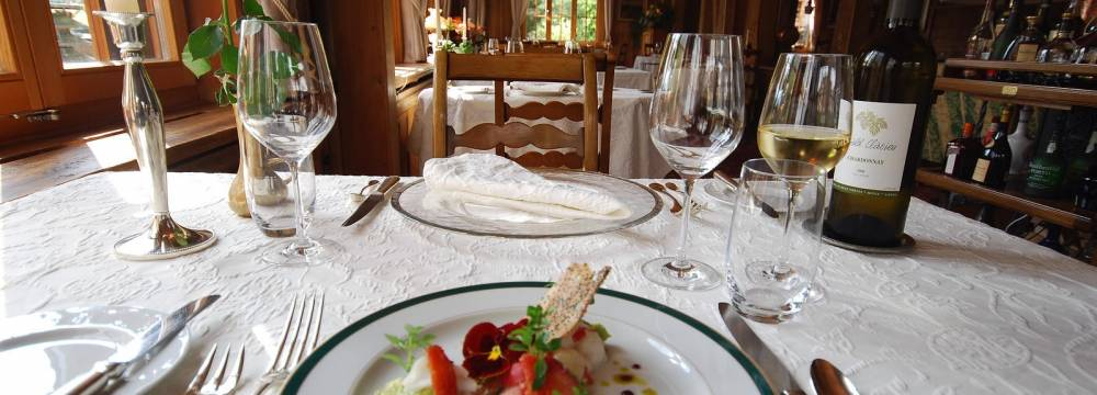 Restaurants in Saanen: Azalee