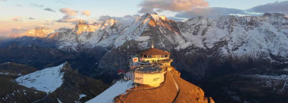 360°-Restaurant Piz Gloria in Murren