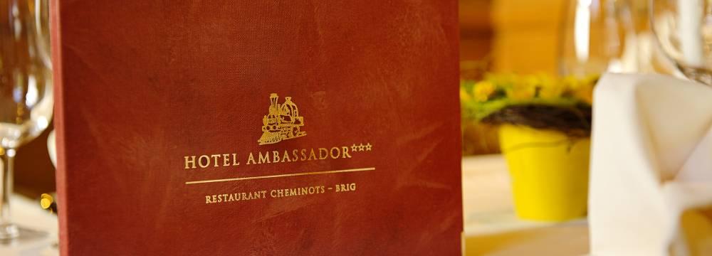 Ambassador Des Chemintos in Brig