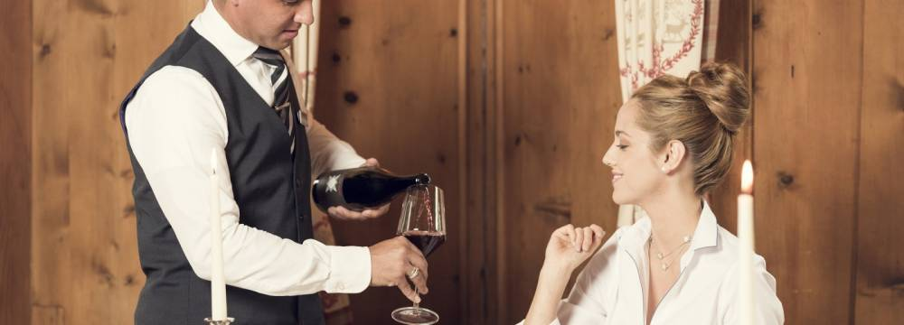 Restaurants in Sils im Engadin: Enoteca & Osteria Murutsch