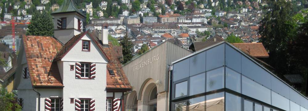 Restaurants in St. Gallen: Falkenburg