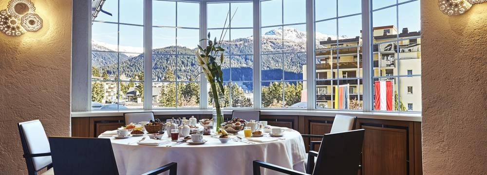 Restaurants in Davos Platz: Steigenberger Belvédère