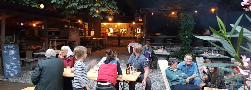 Restaurants in Cevio: Grotto Franci