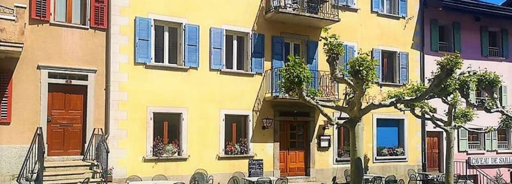 Café restaurant de la Poste, Saillon in Saillon