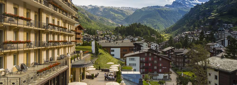 Restaurants in Zermatt: Brasserie Beau Site