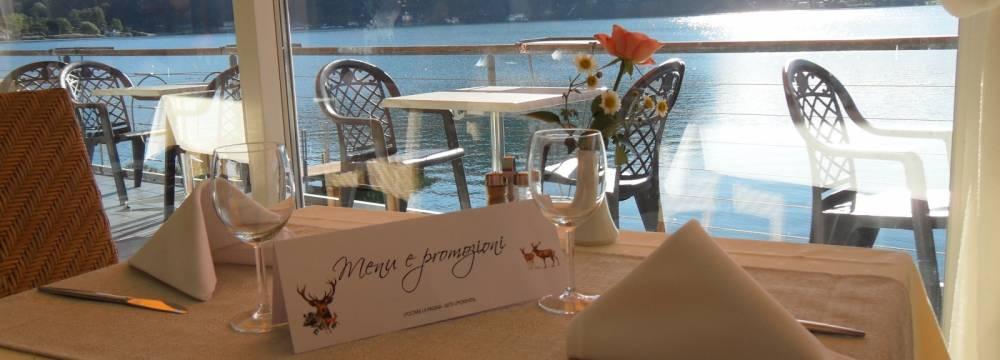 Restaurants in Ponte Tresa: Baia Ristorante Panoramico