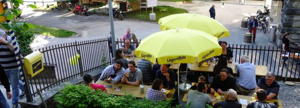 Biergarten Lägerebräu in Wettingen