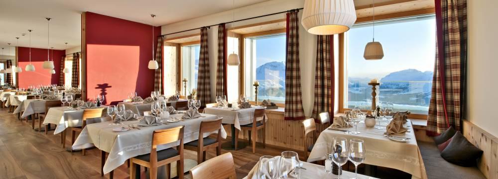 Romantik Hotel, Panorama Restaurant, Muottas Muragl in Samedan