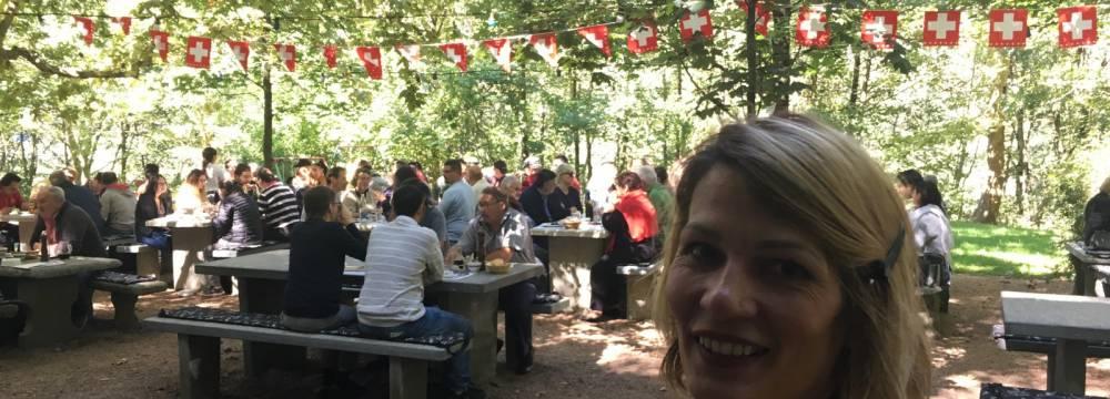 Restaurants in Lumino: Ristorante Grotto Bassa