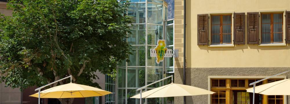 Restaurants in Leukerbad: Sacre Bon in ThermalHotels Leukerbad