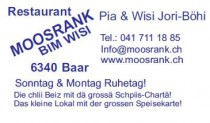 Logo von Restaurant Moosrank in Baar