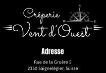 Logo von Restaurant Crperie Vent daposOuest in Saignelgier