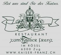 Logo von Restaurant zum Kaiser Franz GmbH in Zug
