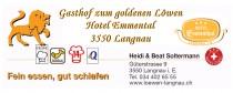 Logo von Restaurant Gasthof zum goldenen Löwen in Langnau im Emmental