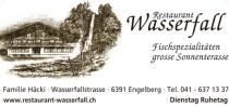 Logo von Restaurant Wasserfall in Engelberg