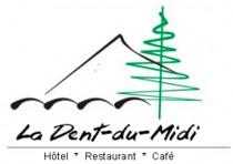 Logo von La Dent-du-Midi Restaurant  Cafe Saint-Maurice in Saint-Maurice